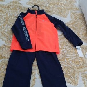 NWT Under Armour track suit sz 3T